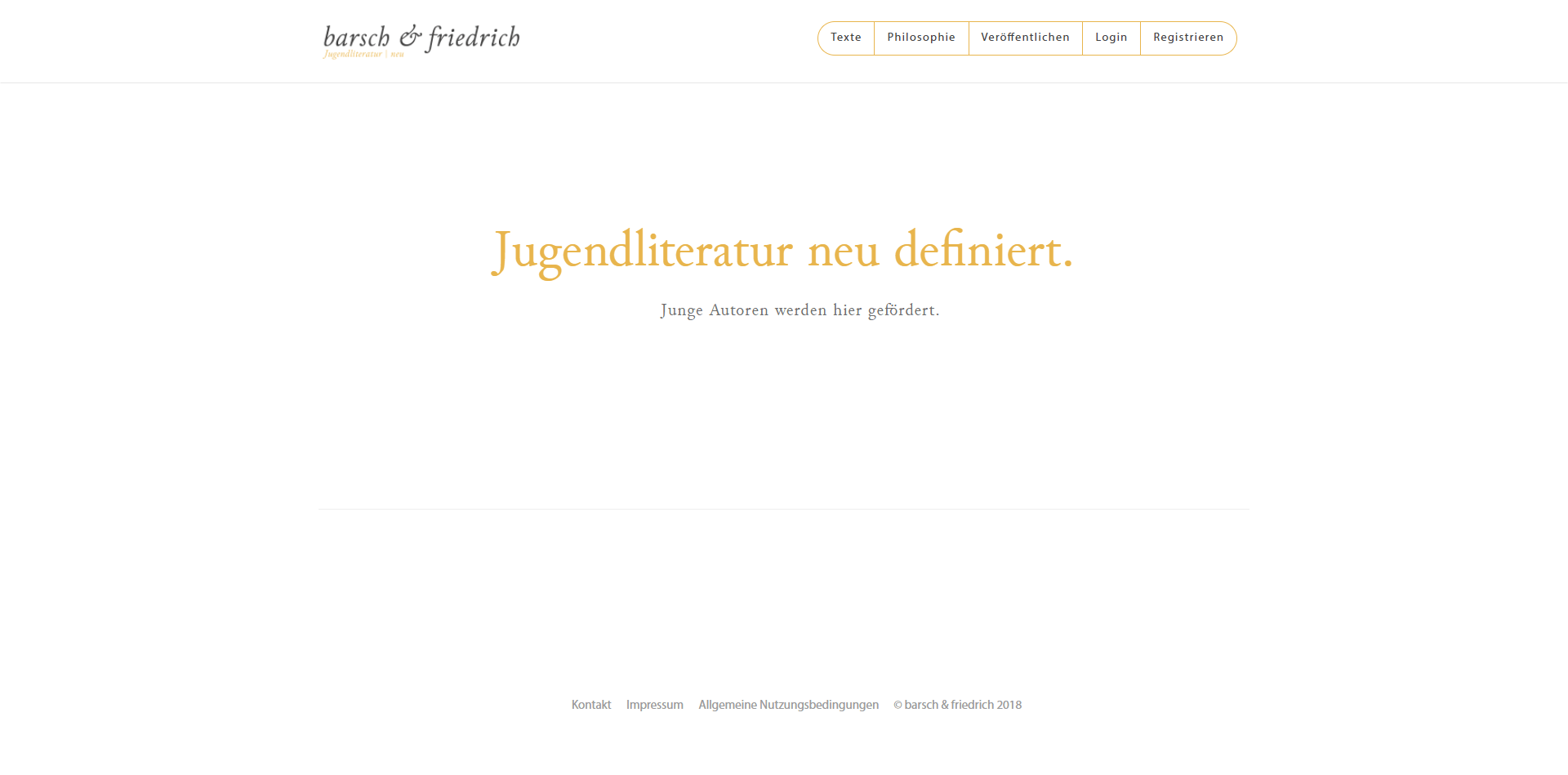 Free webdesign and hosting for non-profit organisation barschundfriedrich.at